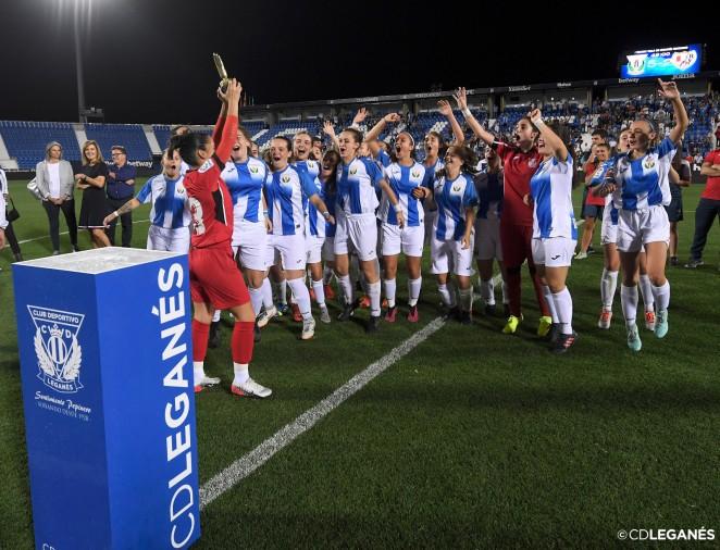 El CD Leganés golea al Fundación Rayo Vallecano (5-2) y se ...