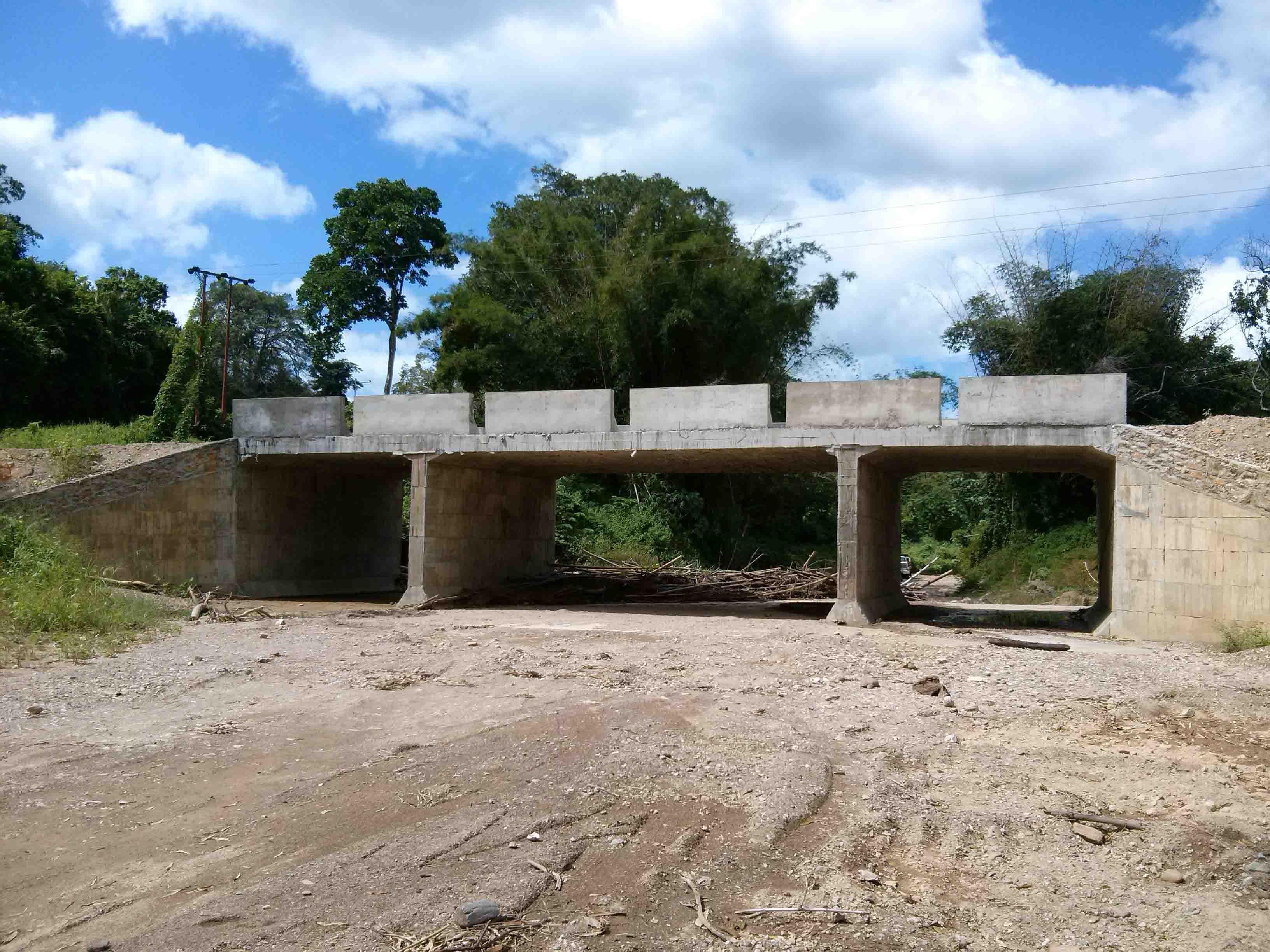 Un nuevo puente para beneficio de nuestro pueblo