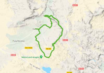 Rutas BTT cerca de Alcañiz