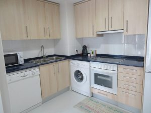 Cocina equipada Apartamentos Turísticos Alcañiz Flats I