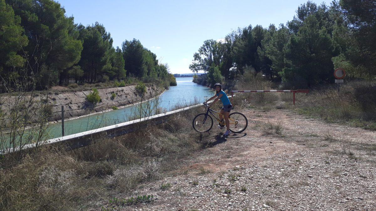 Rutas en bicicleta por Alcañiz - La Estanca