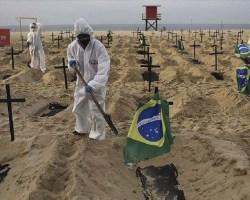 Sudamérica es el foco global de muertes por COVID-19