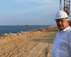 Corredor del Istmo estará a cargo de la Secretaría de Marina: AMLO