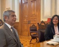 Irma Eréndira Sandoval deja la SFP; la sustituye Roberto Salcedo