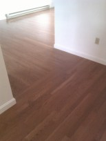 Oak flooring, changing the installation direction