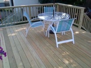 Deck in South Portland