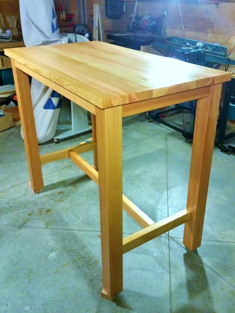 Custom Douglas Fir Table