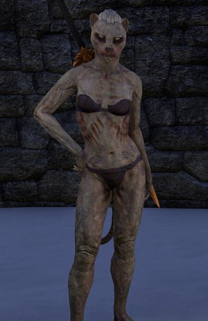 Bloodfiend Skin Khajiit ESO