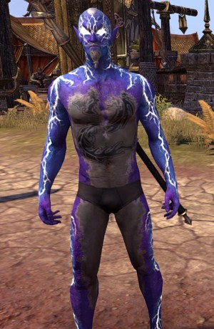 Kyne's Fury Skin Human