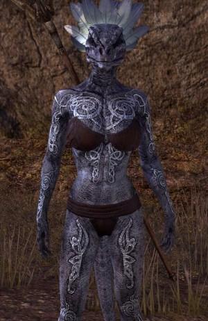 Seaborn Silver Skin Argonian