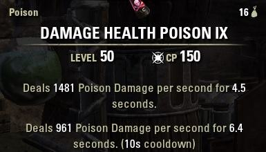 double health poisons