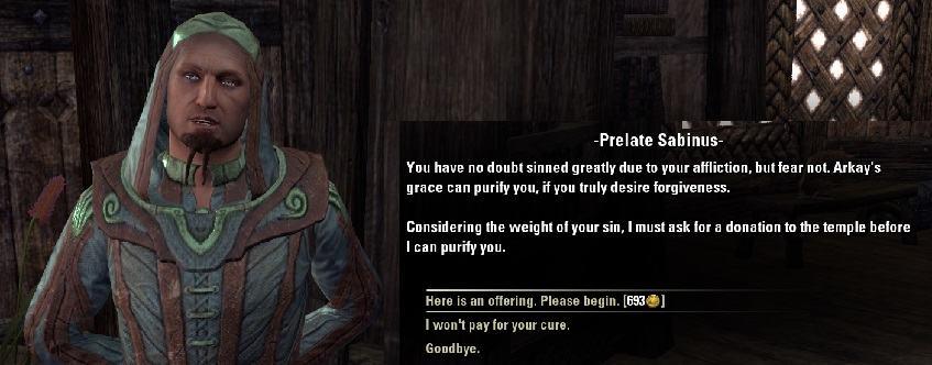 Вампиры в The Elder Scrolls Online