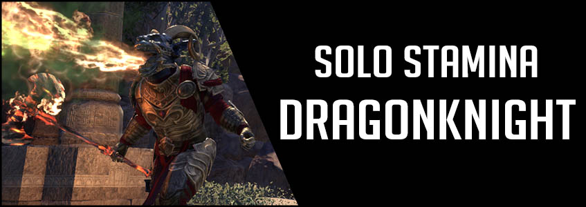 Solo Stamina Dragonknight PvE Build Banner picture
