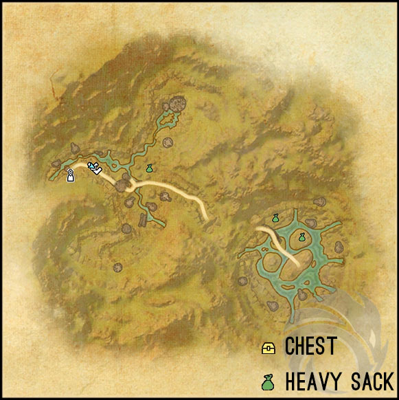 city of ash 2 treasure chest map 1