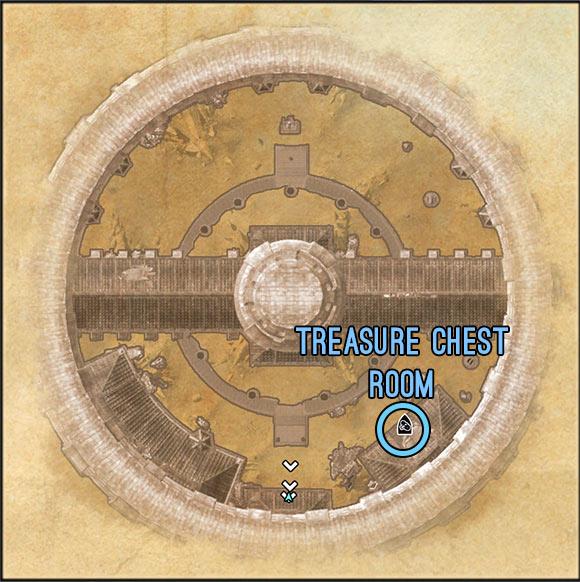 Imperial City Prison map 1 ESO Elder Scrolls Online