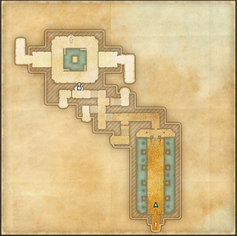 Castle Thorn Dungeon Map 2 ESO