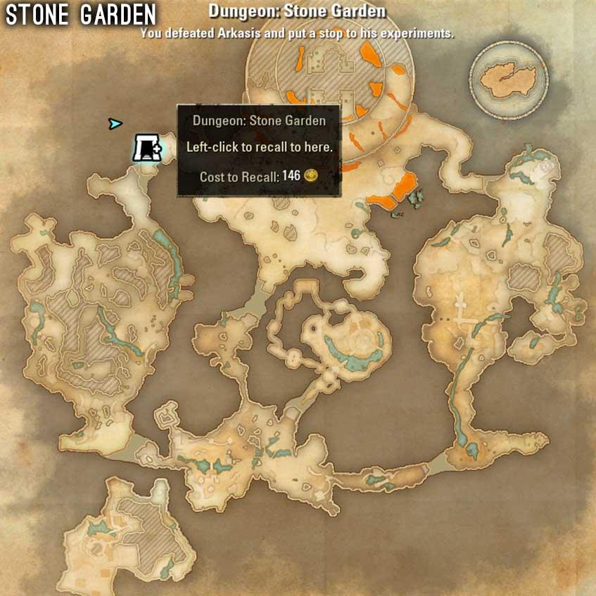 Stone Garden Map 1 ESO