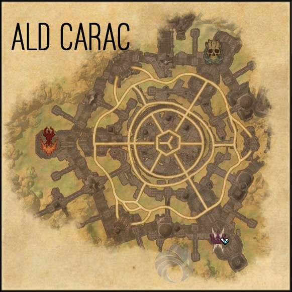 map ald carac