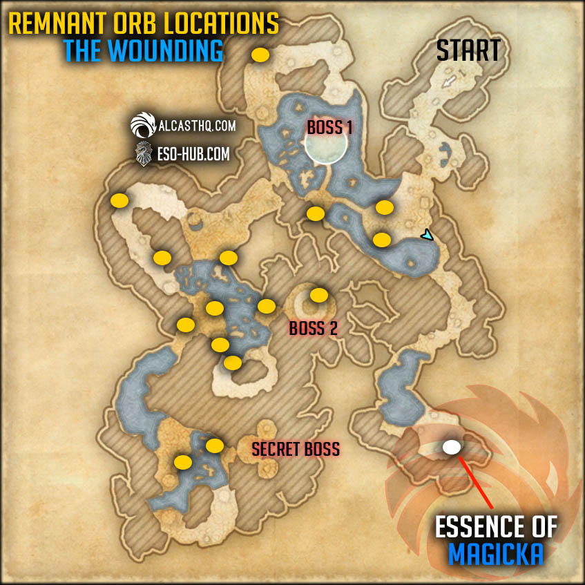 Blue Zone Essence and Remnants Orb Locations Vateshran Hollows ESO2