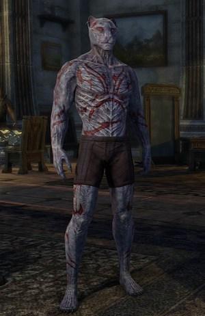 Dagon's Viscerent Skin Khajiit Form ESO