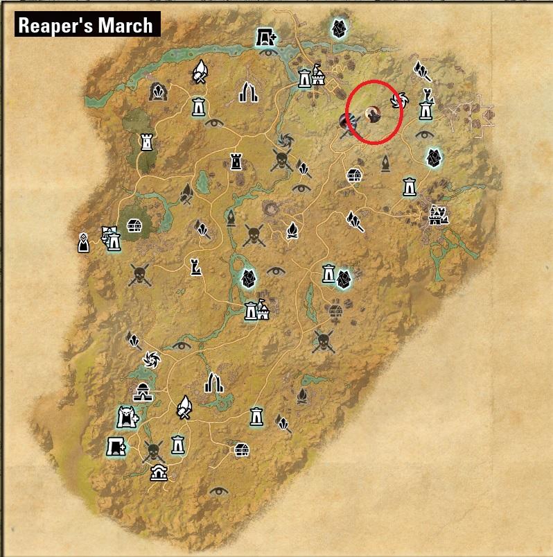 Reaper's March Werewolf Bite Location - ESO Werewolf Guide