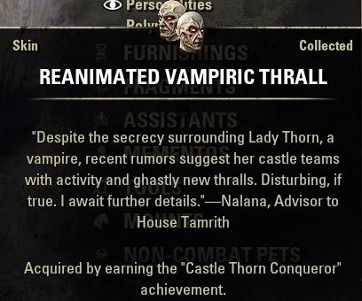 Reanimated Vampiric Thrall Skin ESO