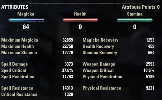 vampire Nightblade solo build unbuffed stats eso30