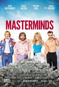 Masterminds movie poster alcaTsar blog Malaysia Singapore
