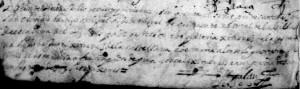 Grafía muy interesante de 1550, parecida a la de Cervantes.