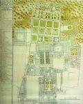 Plano del Real Alcázar de Sevilla. Sebastián de van der Borcht. 1759. http://www.alcazarsevilla.org/website/wp-content/pdfs/APUNTES/apuntes8/2007restauracionb/restauracionb.html