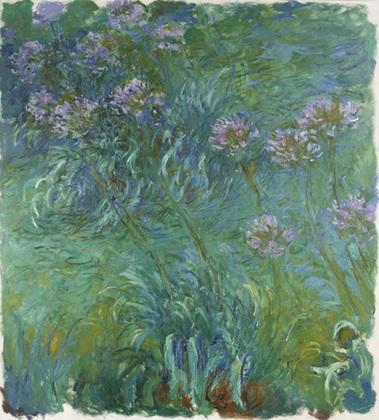 Agapanthus de Claude Monet, 1914-1926, MoMa de Nueva York