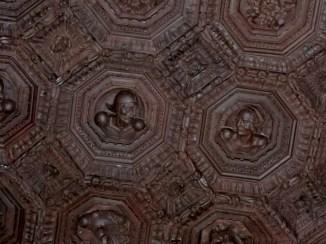 Sebastián de Segovia, techo de la Sala de Carlos V, 1541-1543