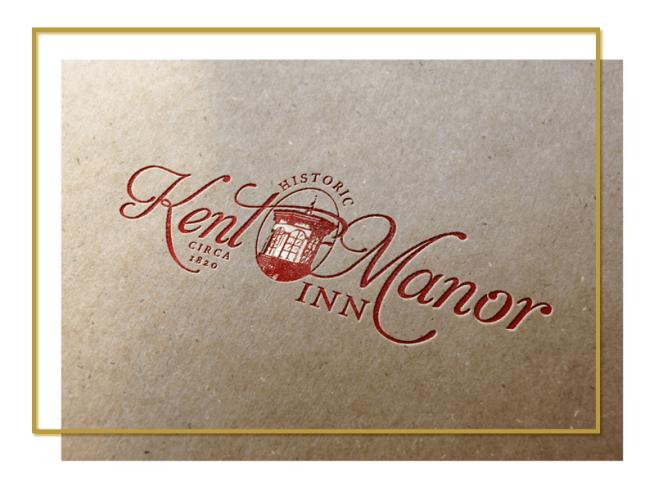 Logo Design for Kent Manor Inn