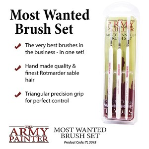 Wargamer Most Wanted Brush Set