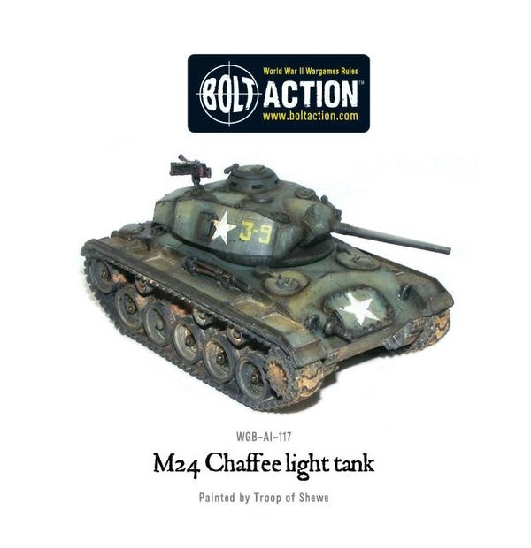 M24 Chaffee US light tank