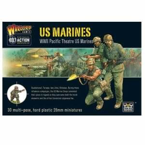US Marines plastic box set