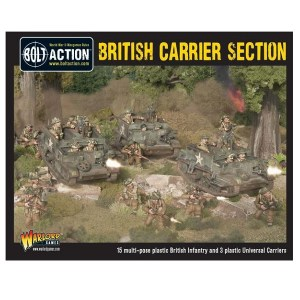 British Carrier Section plastic boxed set