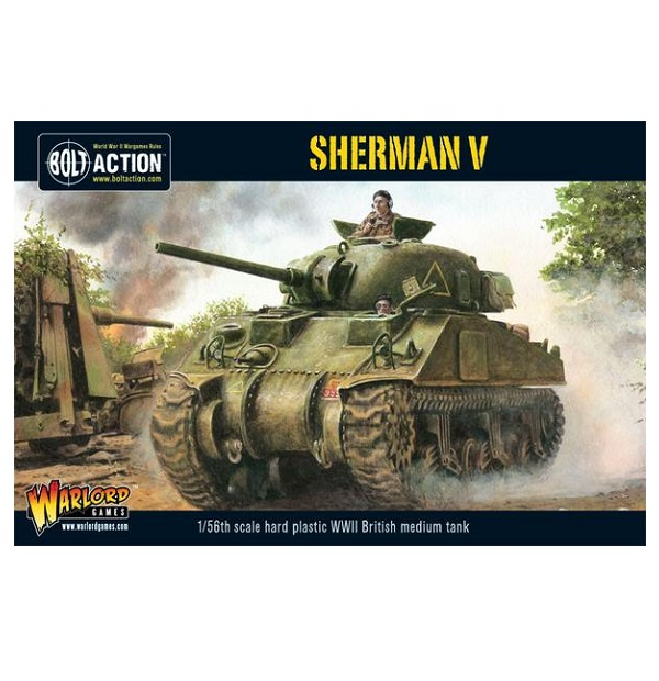 Sherman V Plastic Box Set