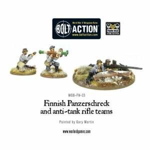Finnish Panzerschreck and Anti-Tank Rifle Teams