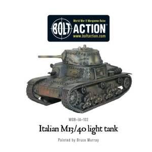 Italian M13/40 light tank