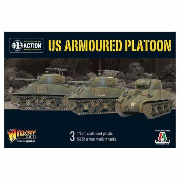 US armoured platoon