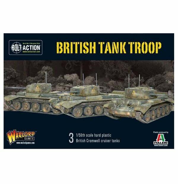 British Cromwell Cruiser tank troop