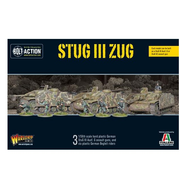 StuG III Zug plastic box set