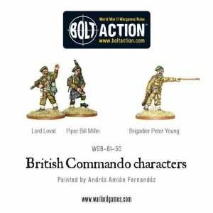 British Commando Characters