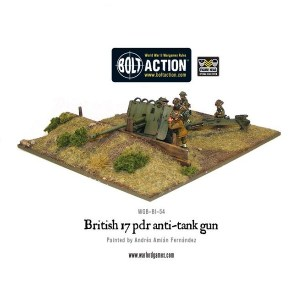 British Army 17-pdr Anti-Tank Gun