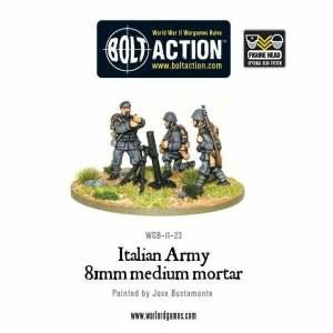 Italian Army 81mm Mortar