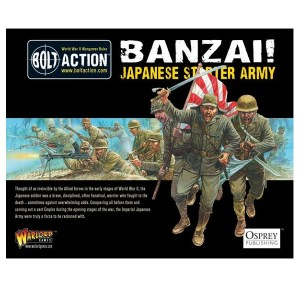 Banzai! 1,000pt Imperial Japanese Army starter army