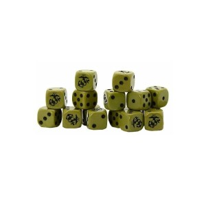 US Marine Corps D6 Dice Pack