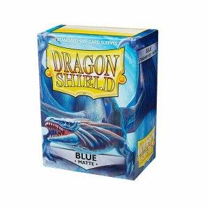 Dragon Shield Sleeves Matte Blue 100