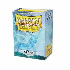 Dragon Shield Sleeves Matte Clear 100